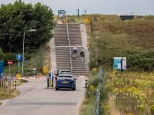 Hellingbaan bij Molenslag in Monster kan nog jaren duren, bevoorrading strandpaviljoens met drone onderzocht