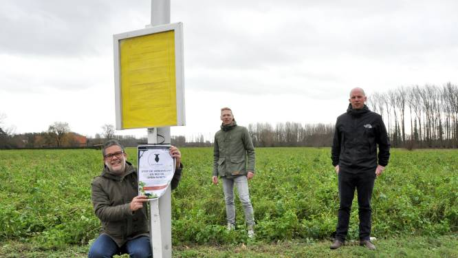"""Buurt strijdt tegen 319 woningen op 12 hectare open ruimte: """"Aalter heeft geen nood aan nog meer beton"""""""