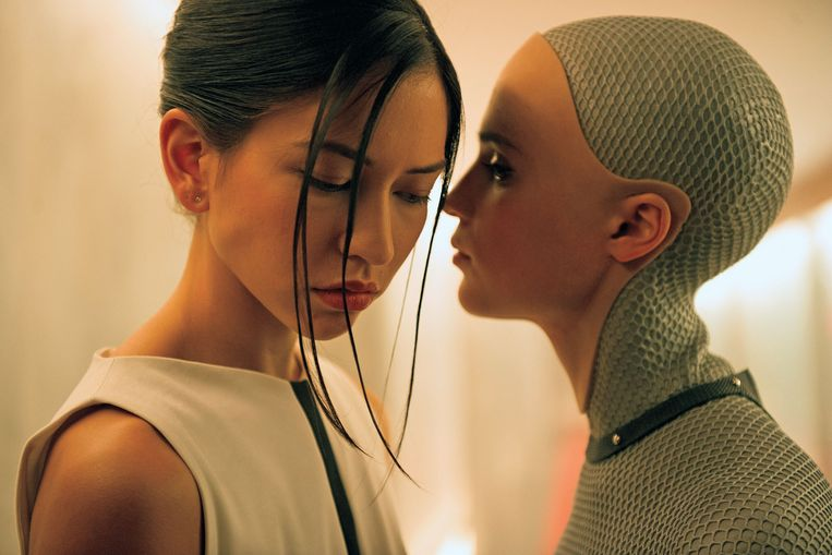 Ava uit de film Ex Machina (2014). Beeld