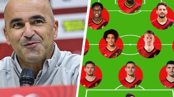 Puzzelwerk voor Roberto Martínez: volledig elftal Rode Duivels is niet meegereisd voor partij tegen Wit-Rusland