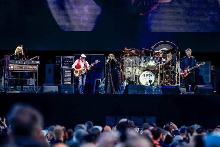 IN BEELD. Hitmachine Fleetwood Mac palmt Werchter Boutique in
