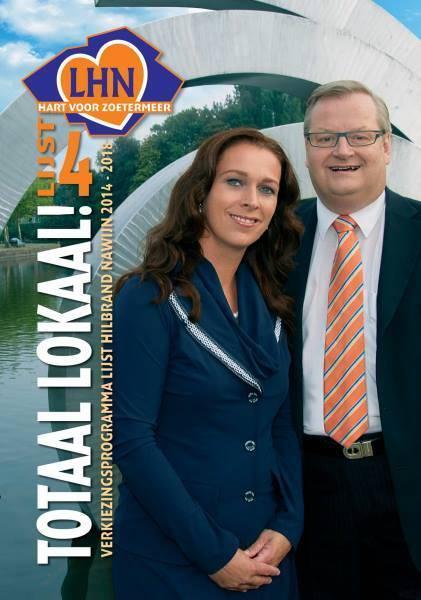 Nawijn probeert het met LHN in Zoetermeer. Slogan: Totaal Lokaal!