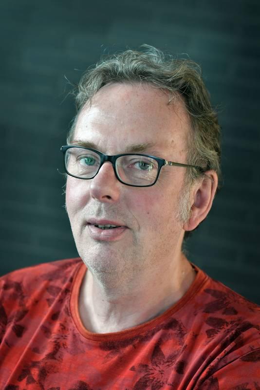 Verslaggever Dick Janssen.