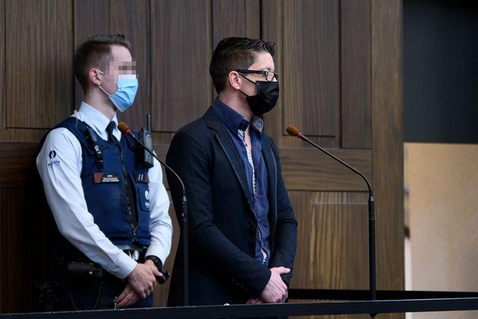 Pol Mistiaen werd eerder deze middag schuldig bevonden aan moord.