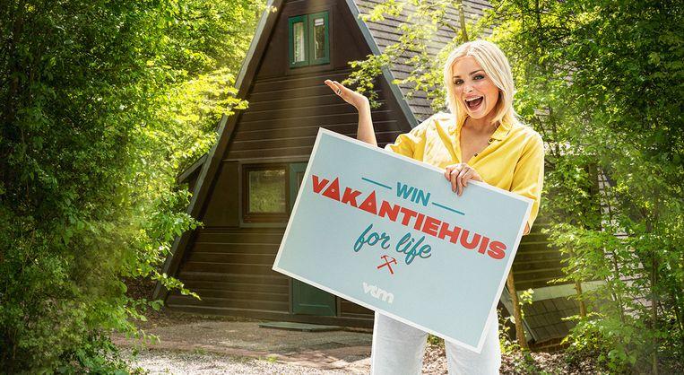 'Vakantiehuis for Life' Beeld VTM GO