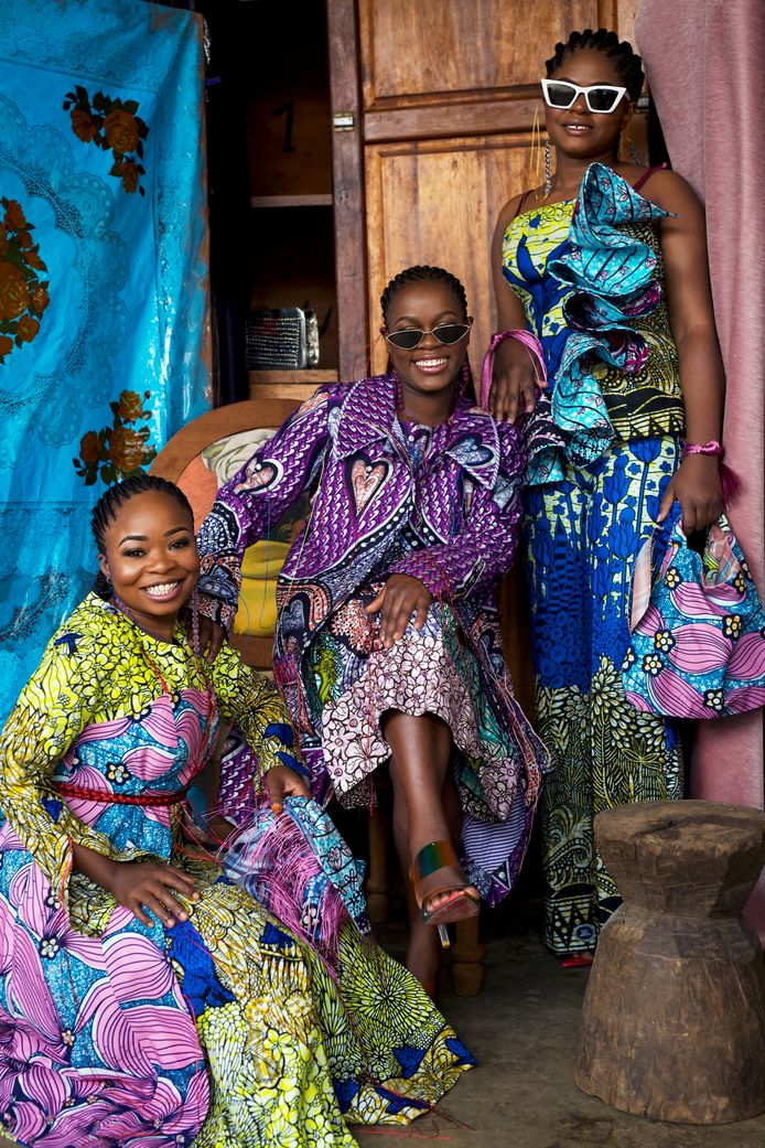The City of Joy-collectie van Vlisco