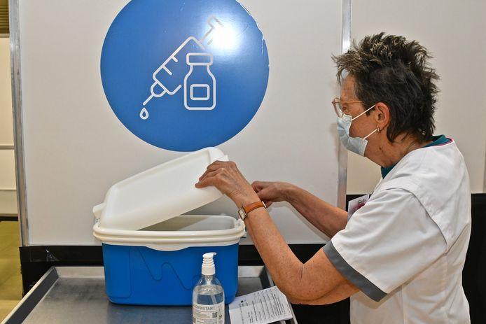 In vaccinatiecentrum ISO worden deze week 1.911 prikjes gezet.