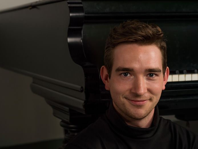 Max Philip Klüser, een van de deelnemers aan het internationale festival.