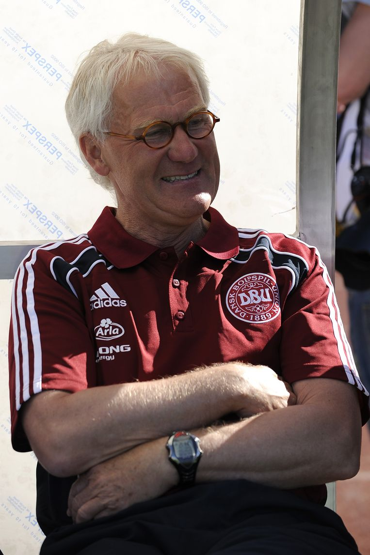 De Deense bondscoach Morten Olsen spaart zijn kritiek niet.