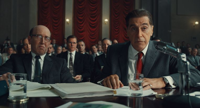 Al Pacino in The Irishman. Beeld