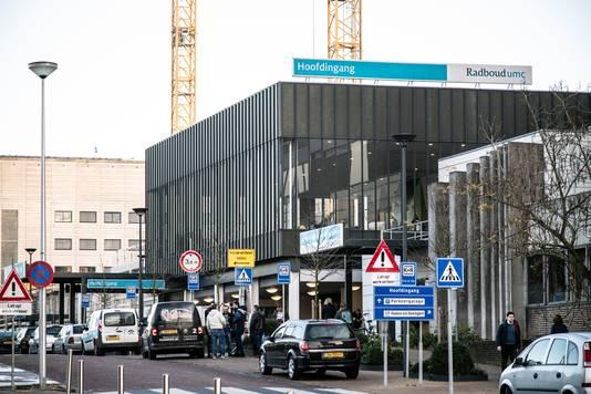 Het Radboudumc in Nijmegen.