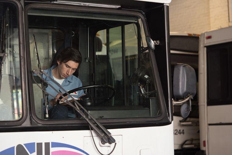 Adam Driver in 'Paterson'. Beeld rv