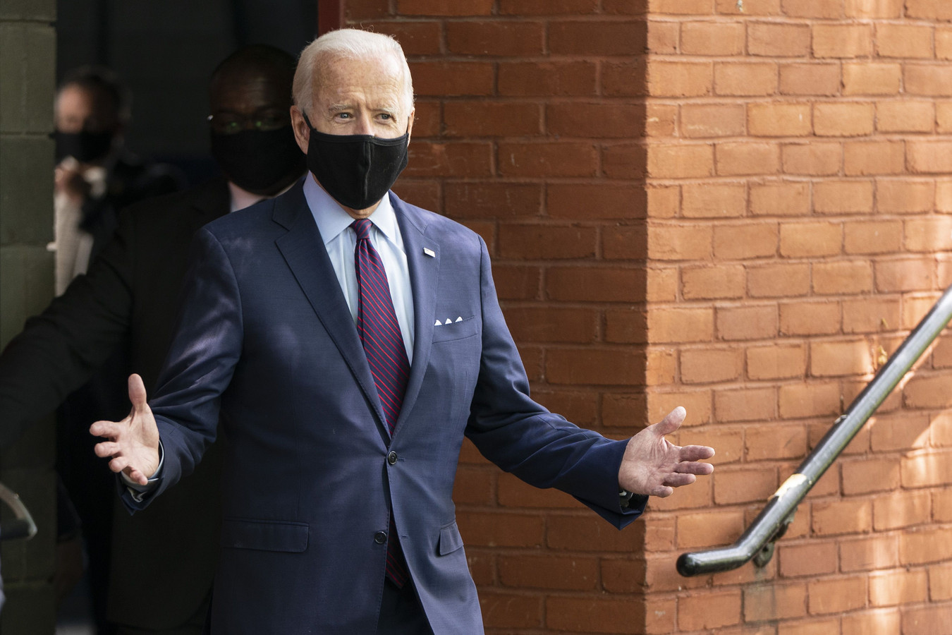 L'ancien vice-président Joe Biden, candidat démocrate à la présidence.