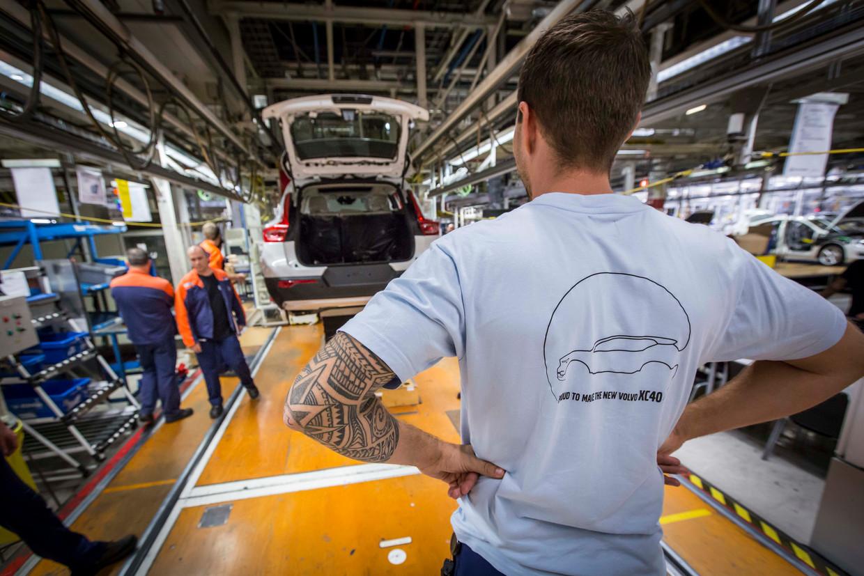 De Volvo-vestiging in Gent. Beeld BELGA