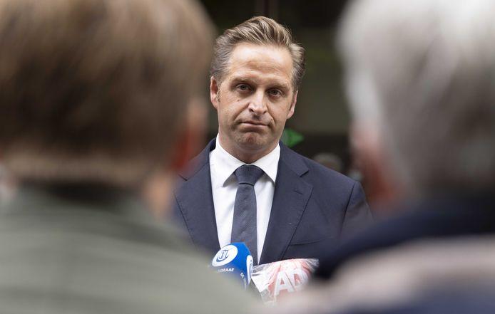 Demissionair minister Hugo de Jonge (CDA, Volksgezondheid, Welzijn en Sport)