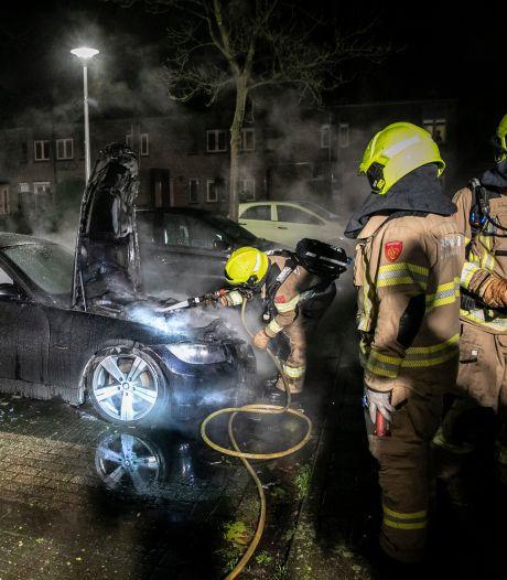 Zevende autobrand van 2021 in Arnhem