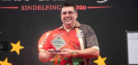 Michael  van Gerwen verliest finale European Darts Grand Prix van Portugees