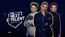 In 'The Next E-Talent: Team Gullit' gaat voetballegende Ruud Gullit samen met onder meer Maarten Sonneveld (links) en Koen Weijland (rechts) op zoek naar het nieuwe FIFA-talent.