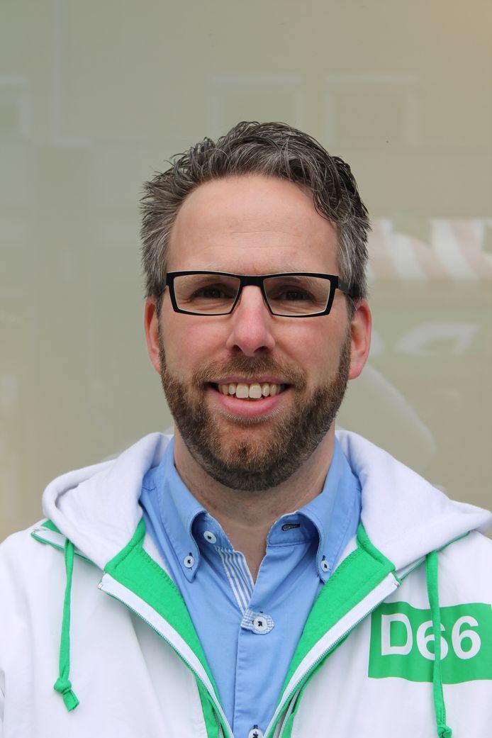 Tom Verhoeve is de nieuwe lijsttrekker van D66 in Nieuwegein.