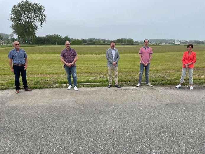 Arnold Scheppers, Alexander van Waesberghe, Donny de Vriend, Sebastiaan Keijmel en Marian van Oostenbrugge.