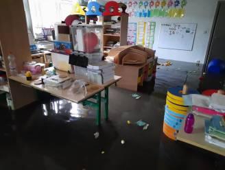 """Wolkbreuk zet klassen onder water: """"Er zijn toch heel wat traantjes gevloeid bij de kinderen"""""""