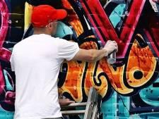Graffiti op het Lageveld in Wierden? Het moet schoon!