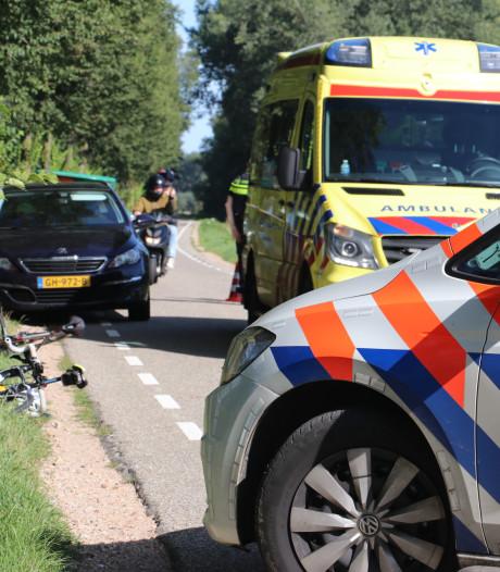 Wielrenner gewond bij aanrijding op Zeedijk in Culemborg