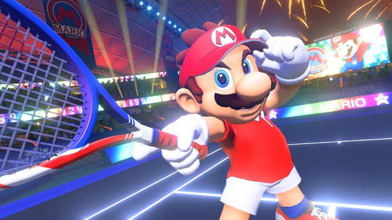 'Super Mario Tennis Aces' is meer Mario dan tennis.