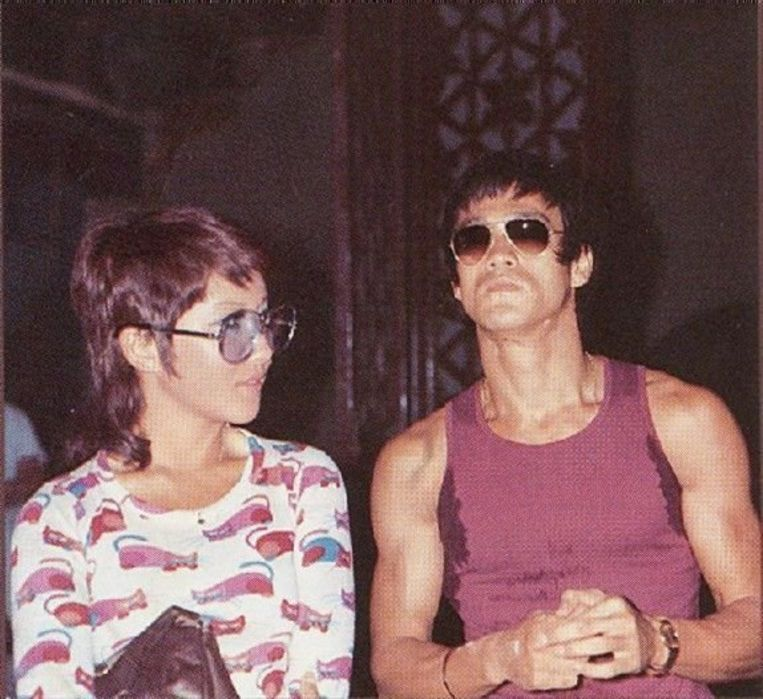 Bruce Lee en zijn vriendin.