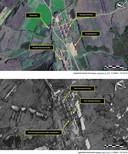 Ces images publiées par Amnesty International montrent un village dans la partie nord du camp politique nord-coréen 16 (Kwanliso) le 23 septembre 2011 et le 4 avril 2013. On peut constater qu'en trois ans, des bâtiments ont été construits. Ces images montrent qu'au lieu de répondre aux appels de plus en plus pressants en faveur de la fermeture de ses camps de prisonniers politiques, la répression par les autorités nord-coréennes s'est poursuivie.