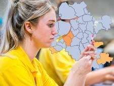 KAART | Stapavond in Nunspeet leidt tot opleving van corona, weinig positieve tests in IJsselland en Flevoland