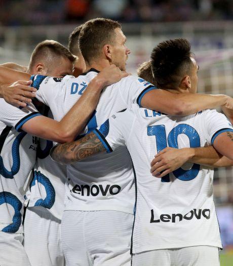 L'Inter renverse une belle Fiorentina et reprend provisoirement la tête de la Serie A