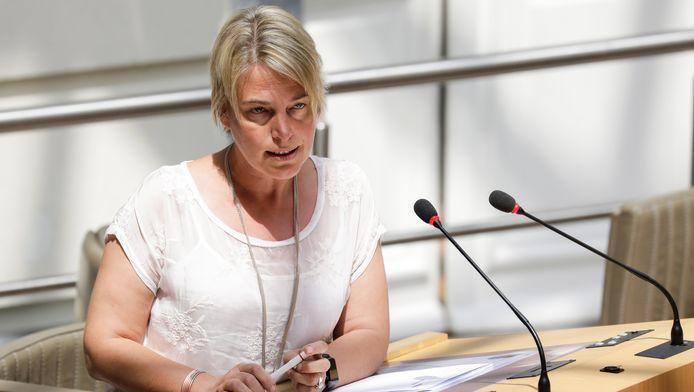 Joke Schauvliege, ministre flamande de l'Environnement.