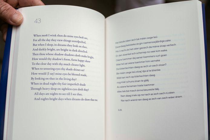 Pagina's uit het boek 'Shakespeare in't (H)essels'.