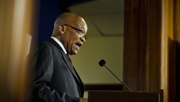 President Jacob Zuma Beeld getty