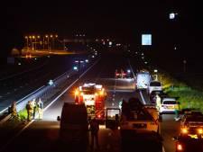 Bestuurder klemgereden Audi met explosieven op A28 nog altijd spoorloos