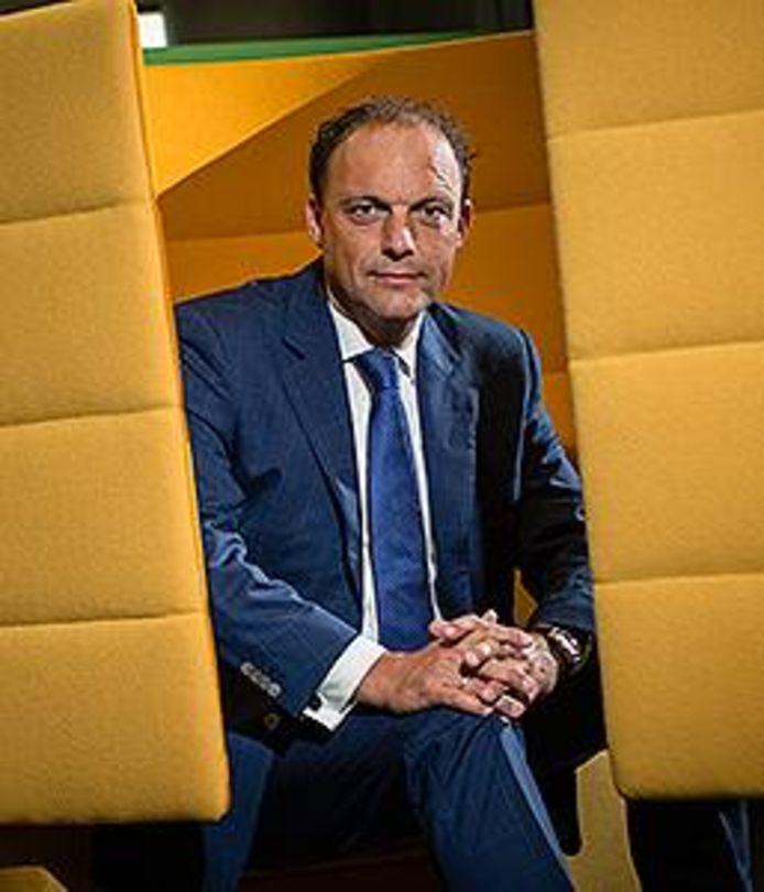 Burgemeester Peter Snijders.