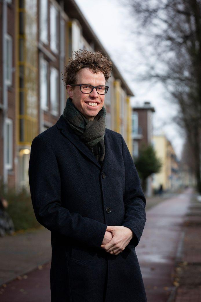 Wethouder Martijn Balster.