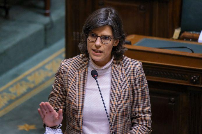 Groen-minister van Energie Tinne Van der Straeten.