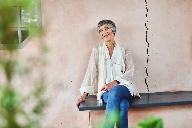 Caroline Lamarche: 'Geweld ervaren van iemand van wie je houdt, is nog erger.'    Beeld Thomas Nolf