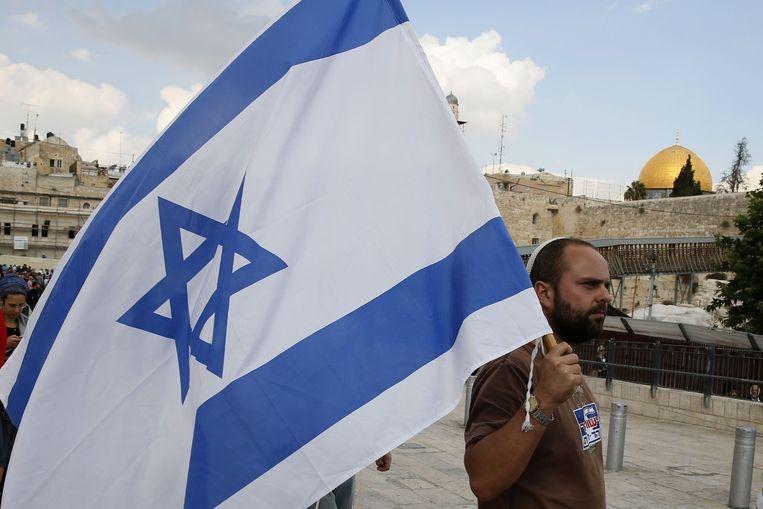 Tempelberg in Jeruzalem. Beeld afp