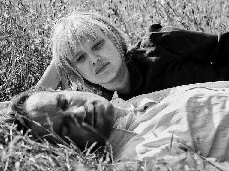 Joanna Kulig en Tomasz Kot in Cold War. Beeld