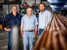 Ad (84) en zoon Henry (60) dragen Sliedrechts familiebedrijf na een eeuw over aan een niet-Korevaar