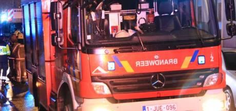 Important incendie dans un zoning à Rochefort: les habitants priés de fermer portes et fenêtres