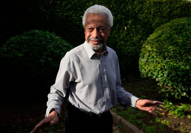 Abdulrazak Gurnah, winnaar van de Nobelprijs voor Literatuur van dit jaar. Beeld AP