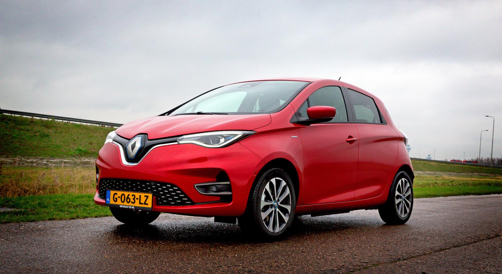 De vernieuwde Renault Zoe biedt mooi infotainment en een praktische bagageruimte. Maar het bereik stelt teleur.