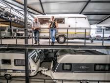 Kampeerder kan caravan niet kwijt, stallingen zitten vol