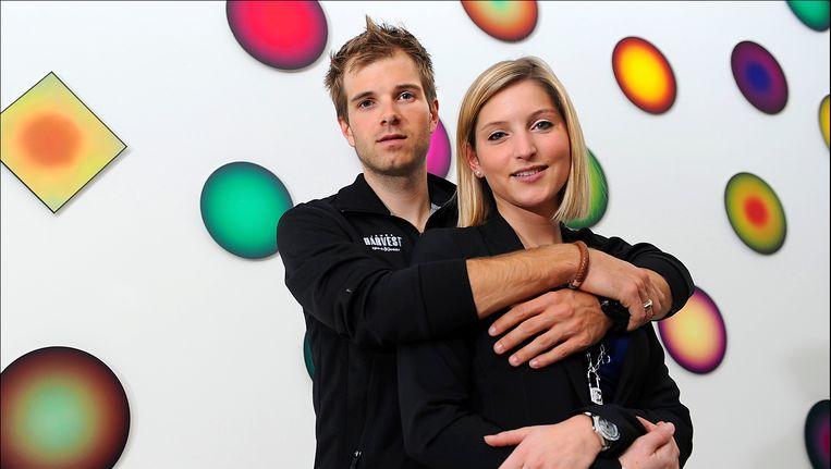 Niels Albert en Chantal Lippens (archief)