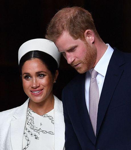 Harry et Meghan rendent un bref hommage au prince Philip