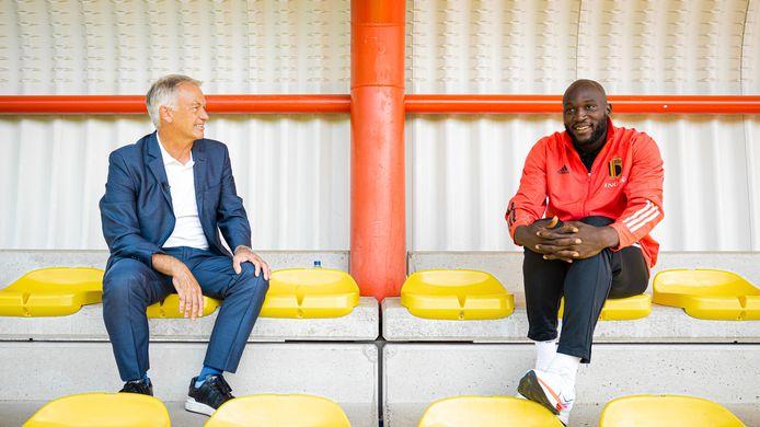 """Degryse interviewt Lukaku. """"Ik was nog bij Inter, maar zat met mijn hoofd al in Londen"""""""